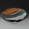 "#22 SW Large Bowl with Abstract Rim 5 to 6"" H x 13 to 14"" W"